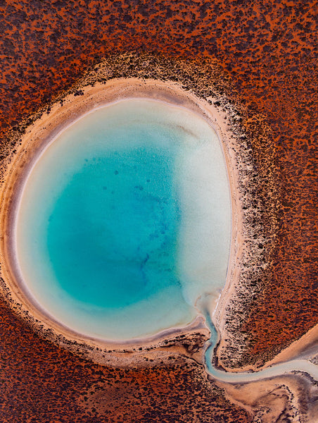 'Big Lagoon' Photographic Print, Shark Bay WA