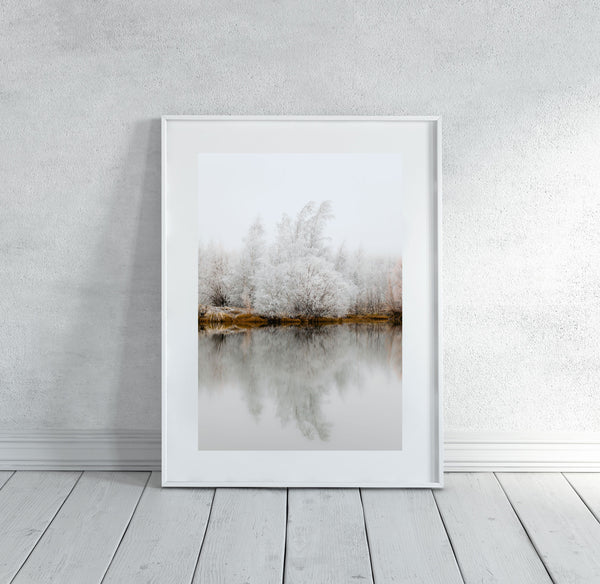 'Be Still' Photographic Print, Kellands Pond