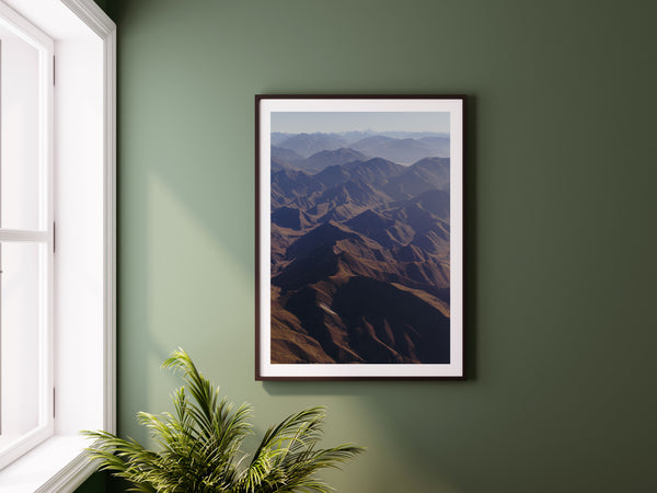 'Portrait of the Lindis Valley' Photographic Print, New Zealand
