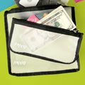 Zippered Small Reusable Storage Bags - 3-pack