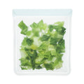 rezip 4-piece Essential Leakproof Reusable Storage Bag Kit Gallon with Lettuce