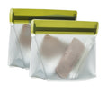Stand-Up 1/2 cup | 4-ounce Leakproof Reusable Storage Bag 2-pack - BlueAvocado