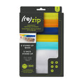 Stand-Up 1-cup | 8-ounce Leakproof Reusable Storage Bag 5-pack