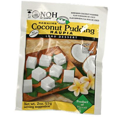 Hawaiian Coconut Pudding Haupia