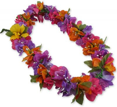 Hawaii Flower Lei Bougainvillea (multicolor)