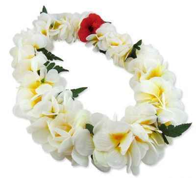 Hawaii Flower Lei Plumeria (white)