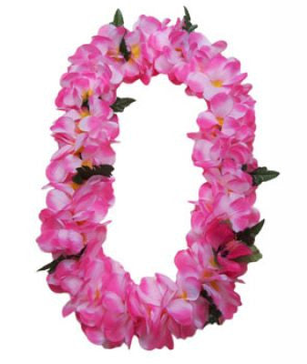 Hawaii Flower Lei Plumeria (pink)