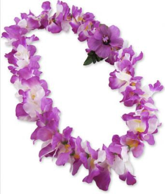 Hawaii Flower Lei Orchids (lavender)
