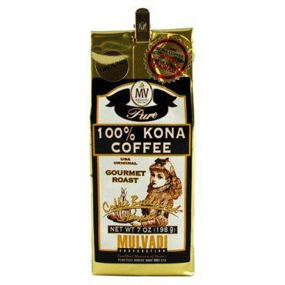 Mulvadi 100% Kona Coffee (Whole Bean)