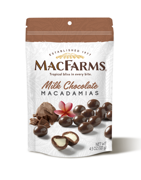 Mac Farms - Fresh from Hawaii - Macadamia Nuts - 4oz Bag