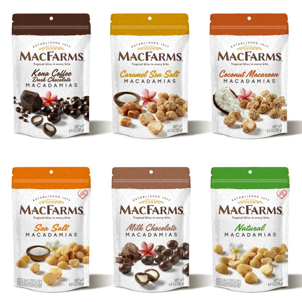 Mac Farms - Fresh from Hawaii - Macadamia Nuts - 9oz Bag