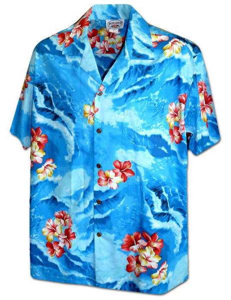 Hawaiian Shirt Ultimate Wave (blue)