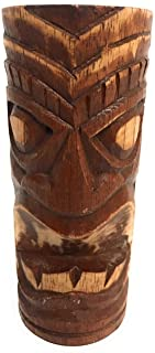 "Hawaii Tiki Totem ""Big Kahuna"" hand carved"