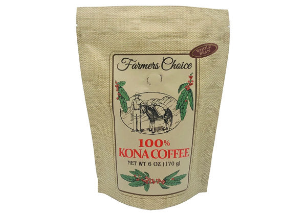 Farmers Choice 100% Kona Coffee (whole bean)