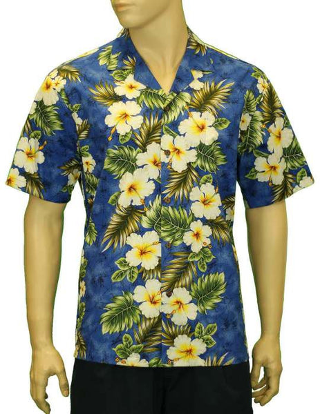 Hawaiian Shirt Kalea (blue)