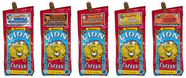 Lion Hawaiian Flavored Coffee