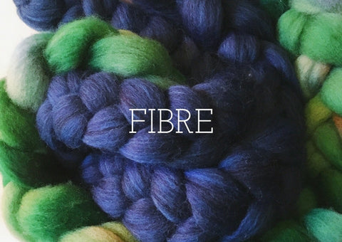 Hand-dyed Fibre
