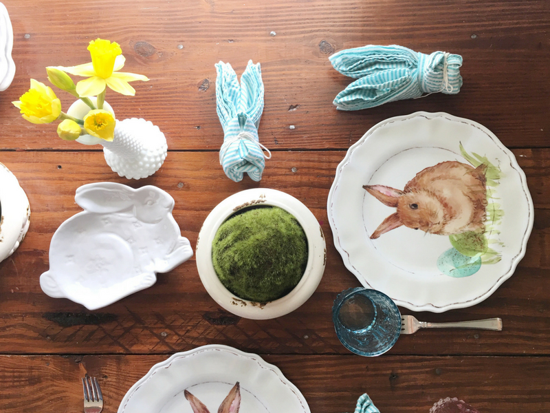 Kiddie Table-Easter Dinner