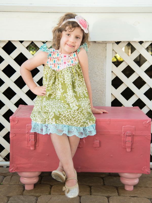 Spring Harvest Farm Girl Dress by Fabulous Girl Clothing