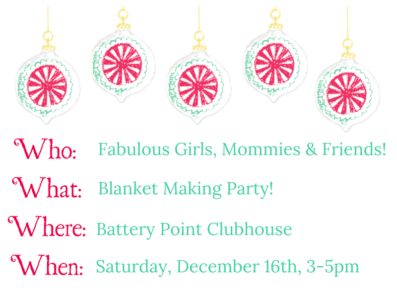 Blanket Making Party Details