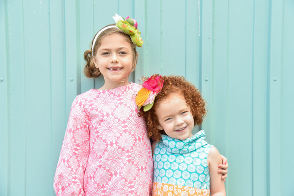 "Fabulous Girl Clothing is a boutique line of girls clothing that is vintage inspired, handmade in small batches and lovingly ""homegrown"" in the USA!"