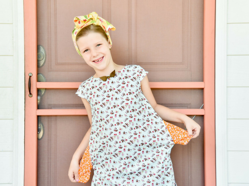 Surprise hidden pockets-Sweet Tweet Dress by Fabulous Girl Clothing