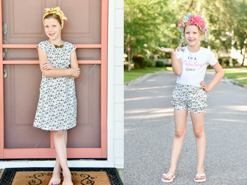 Sweet Tweet Dress and Bubble Shorts by Fabulous Girl Clothing