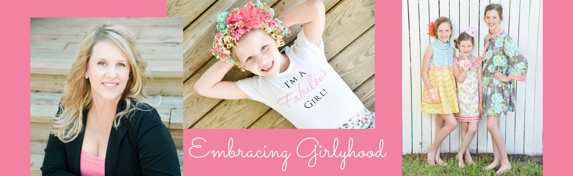Hello!  About Me, Rachel Loomis-Designer of Fabulous Girl Clothing.