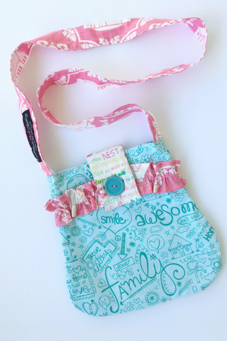 Signature Pocketbook - Sweet Notes with Pink