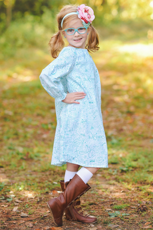 Sweet Notes Tunic Dress