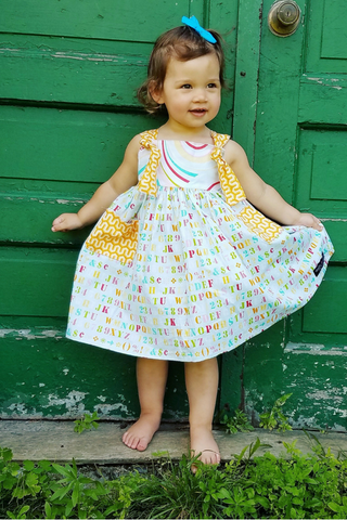 School Days Knot Dress
