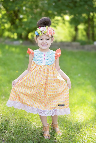 Marigold Farm Girl Dress