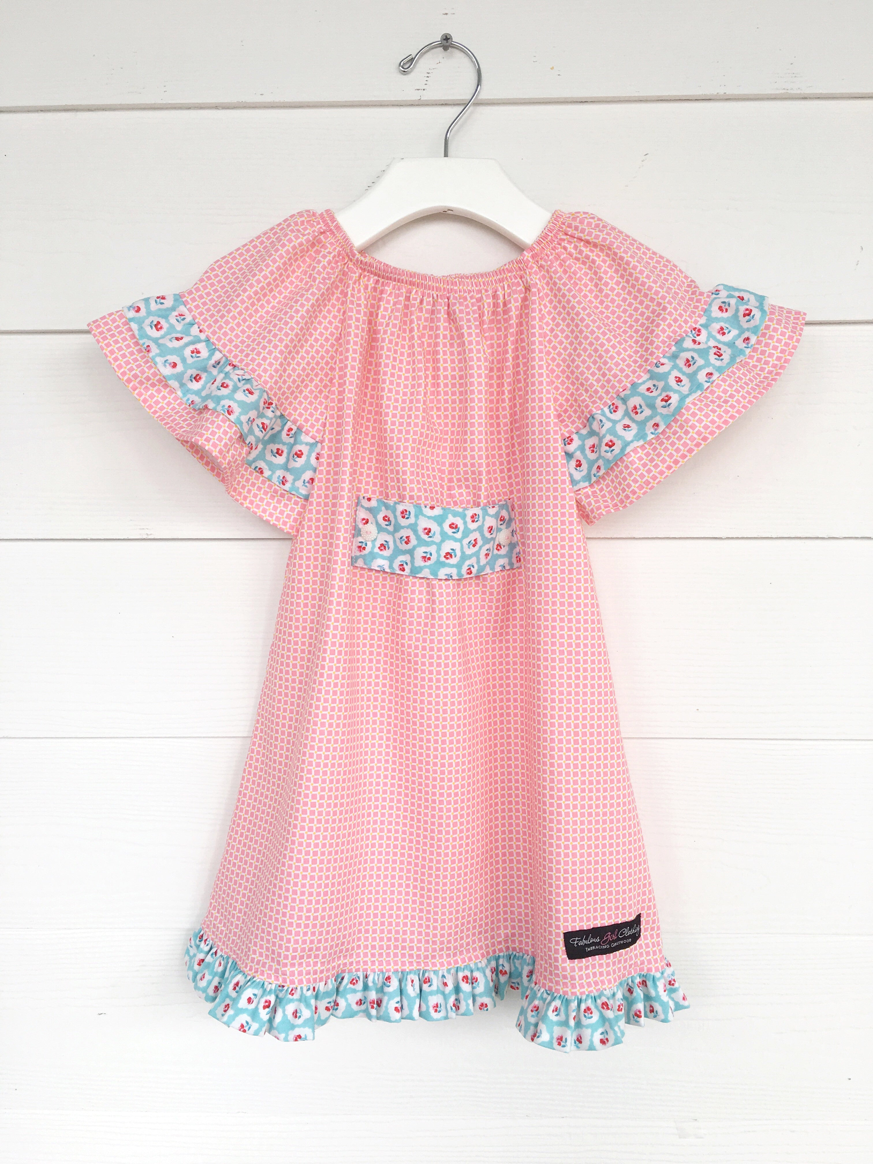 Sweet Mary Dress - Pink