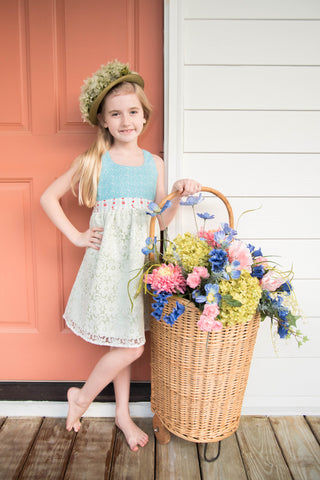 Pretty Maids Dress in Mint