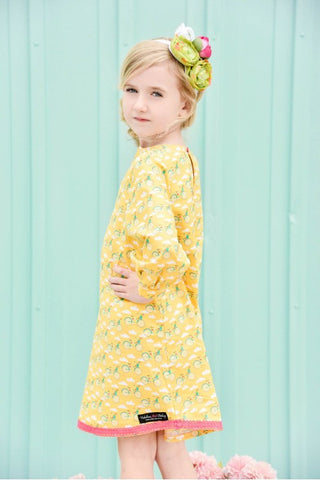 Olivia Tunic Dress-Vintage Bicycles