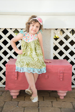 Farm Girl Dress-Harvest
