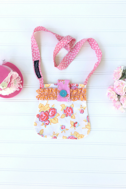 Signature Pocketbook - Cottage Roses