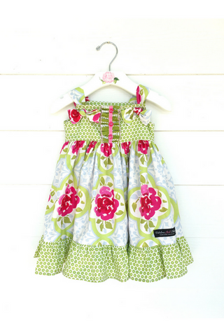 Raspberry Delight Knot Dress
