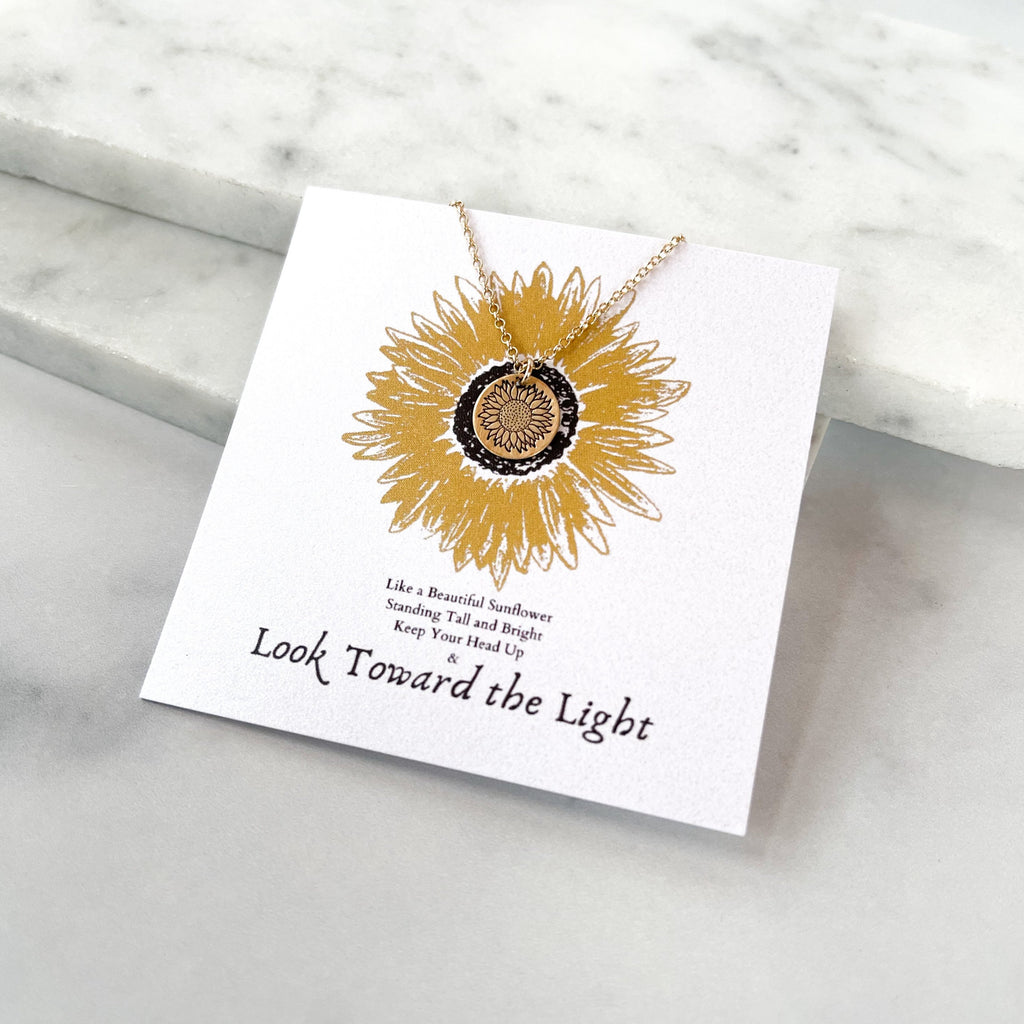 SUNFLOWER HOPE NECKLACE