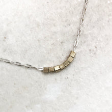 CUBED CHARM NECKLACE
