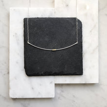SILVER CRADLE NECKLACE