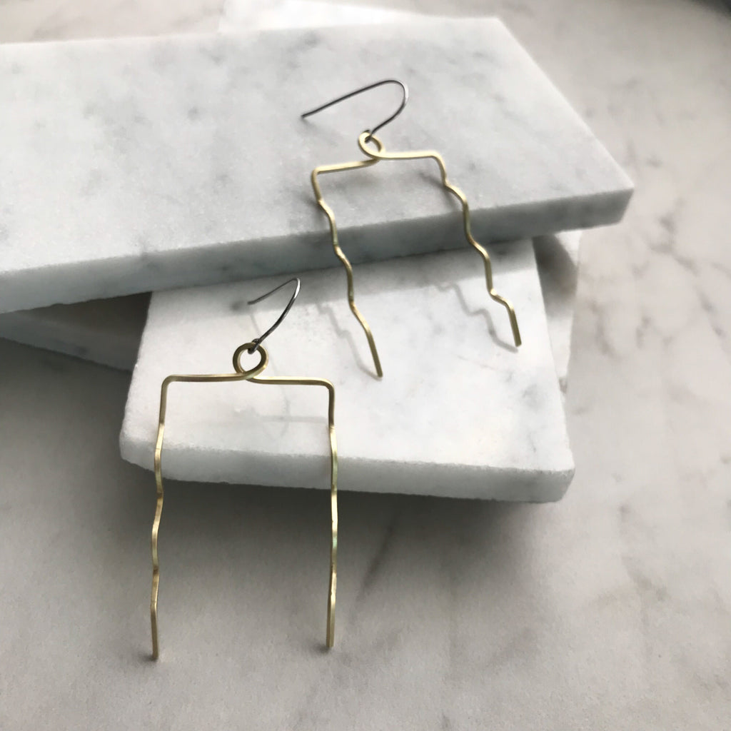 SINE EARRINGS