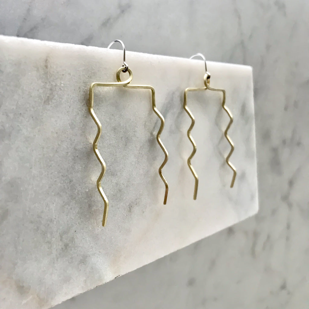 SINE EARRINGS - SALE