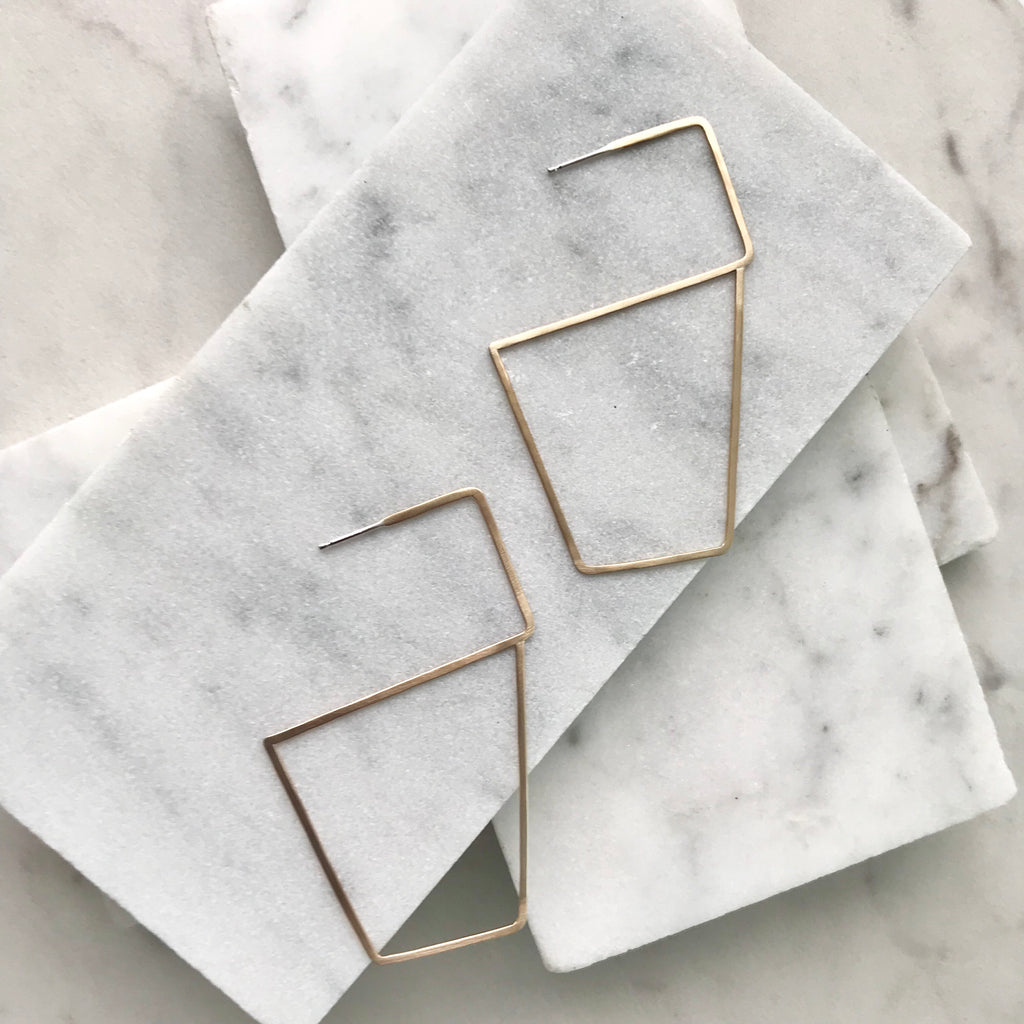 LUCY STUDS SQUARE- SALE