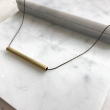 MINI TUBE NECKLACE