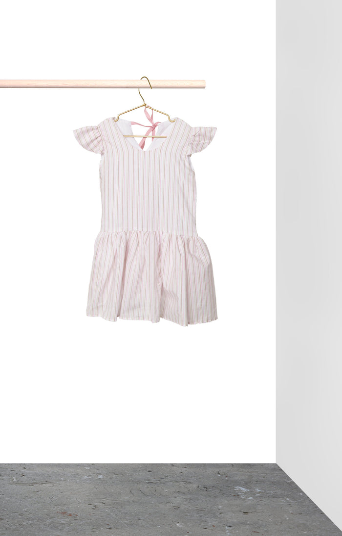 Elle Dress - Pink Stripe