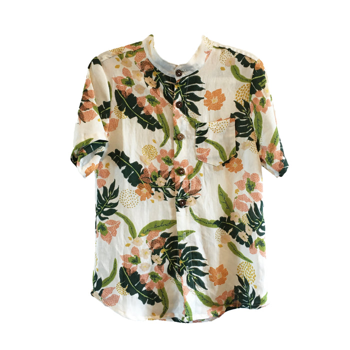 Ryan Short Sleeve Top - Floral