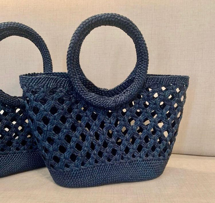 Sun Kissed Tote - Navy