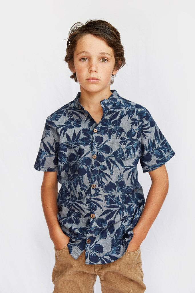 Ryan Short Sleeve Shirt - Hawaiian