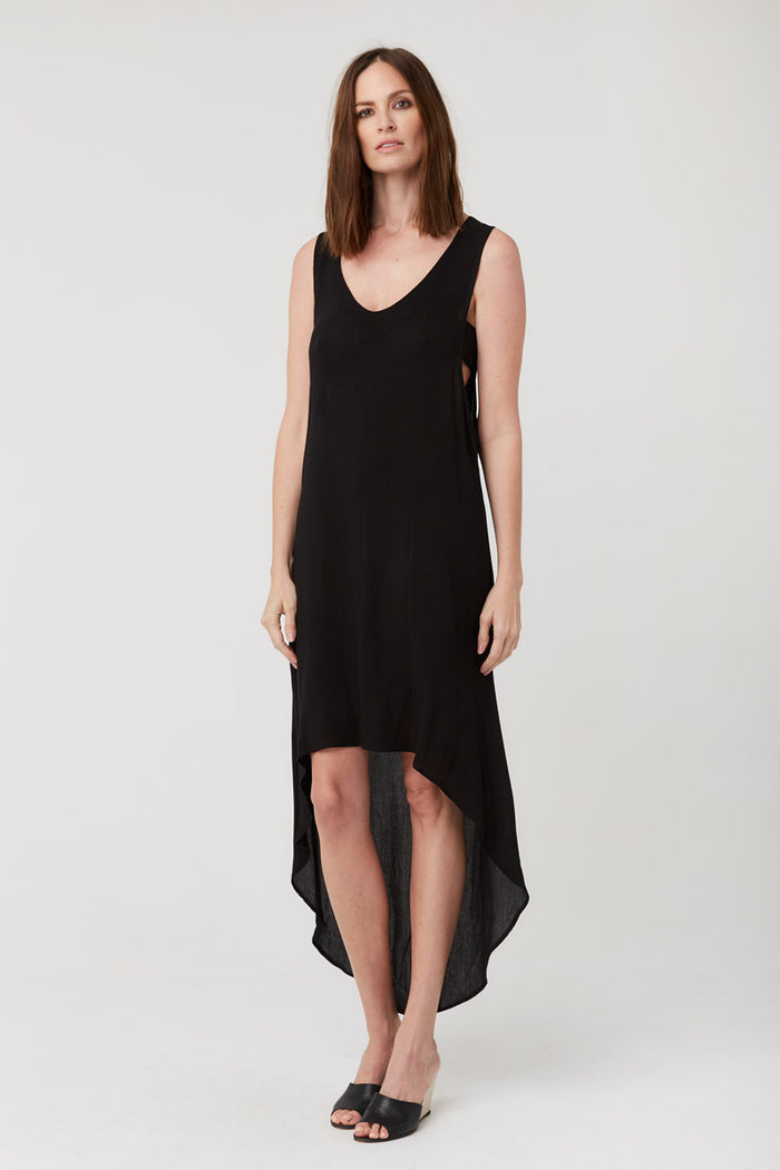 Maren V Dress - Rayon Gauze